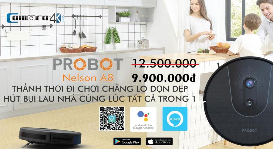 Robot hút bụi A8