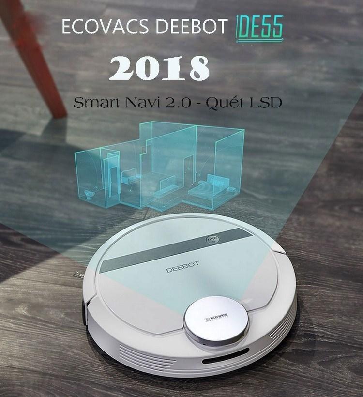 Ecovacs Deebot DE55 Robot hút bụi tốt nhất cho mọi ngân sách